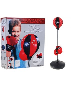 Boxovacia hruška s rukavicami